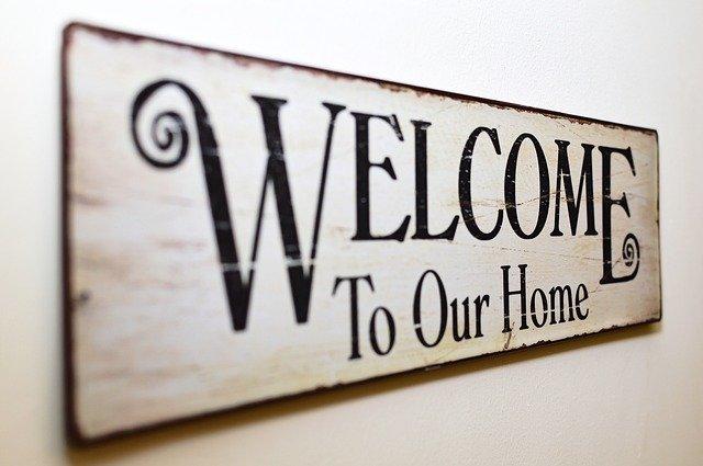 welcome tenants warmly